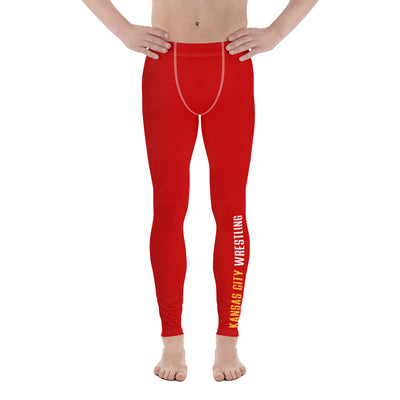 Kansas City Wrestling Men's Leggings