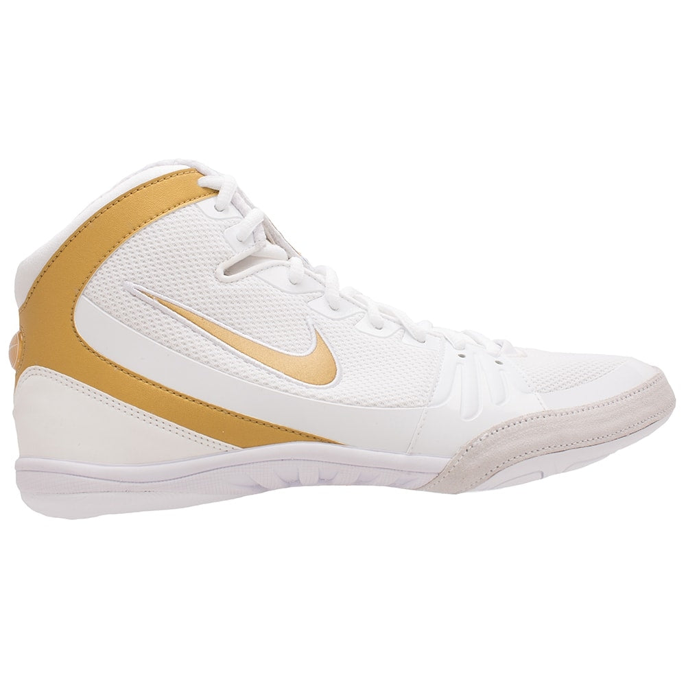 Nike Freek LE (White/ Metallic Gold)