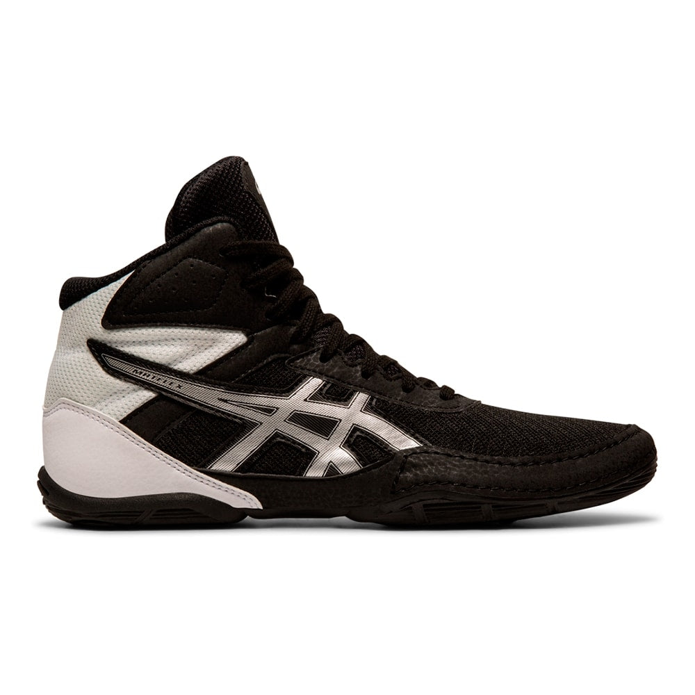Asics Matflex 6 GS Youth Wrestling Shoe (Black / Silver)