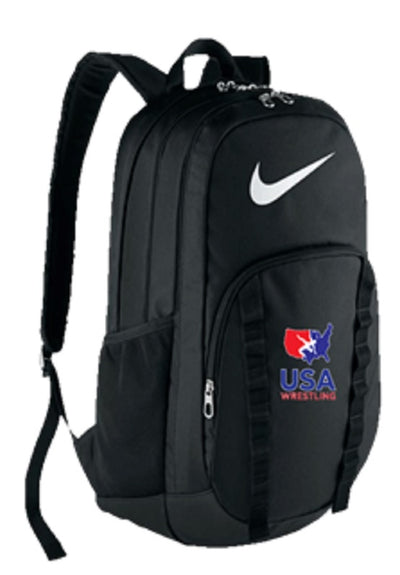 Nike USA Wrestling Brasilia 7 XL Backpack (Black)