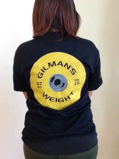 Thomas Gilman Weight Wrestling T-Shirt