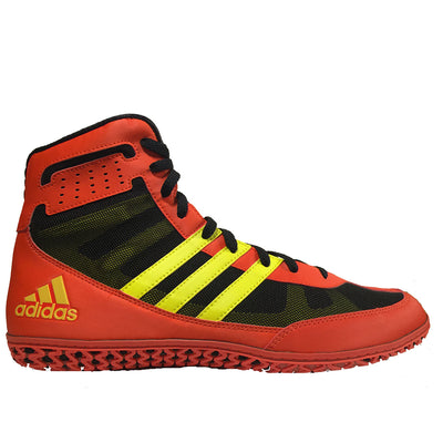 Adidas Mat Wizard 3 (Red / Yellow / Black)