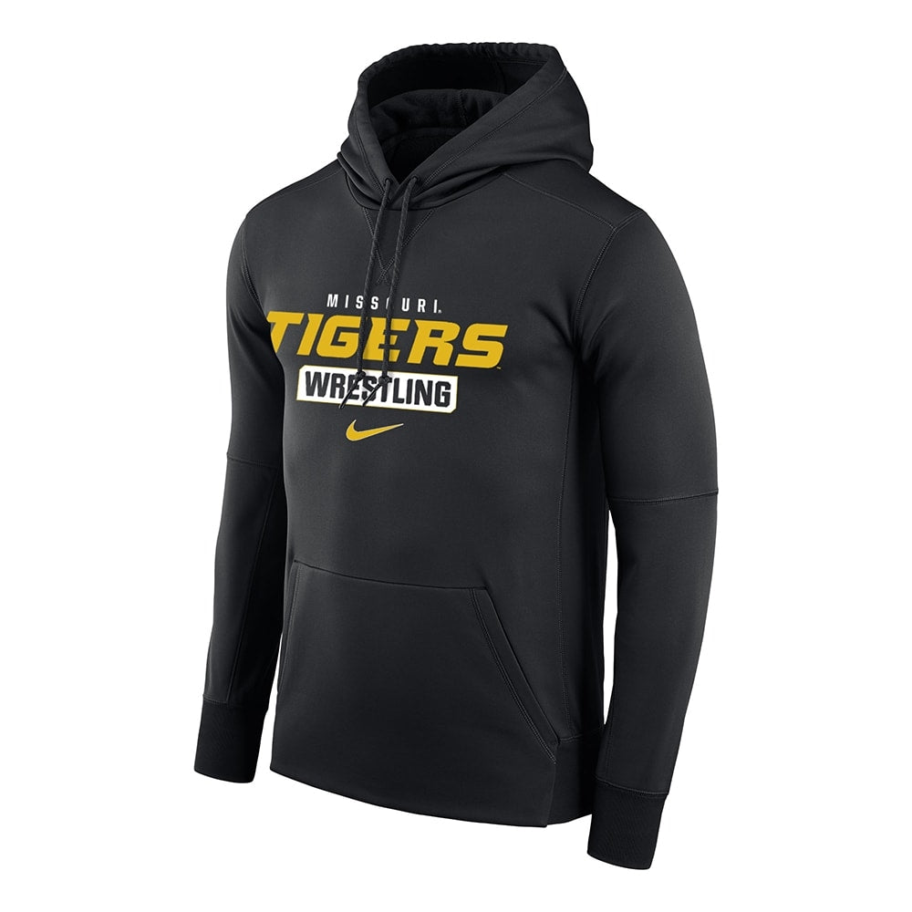 Missouri Tigers Wrestling Nike Therma PO Hoody