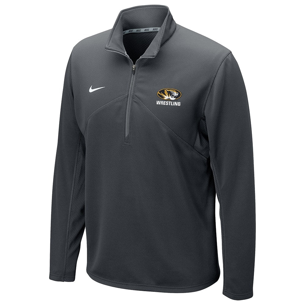 Missouri Tigers Wrestling Nike Dri-Fit Training 1/4 Zip Top