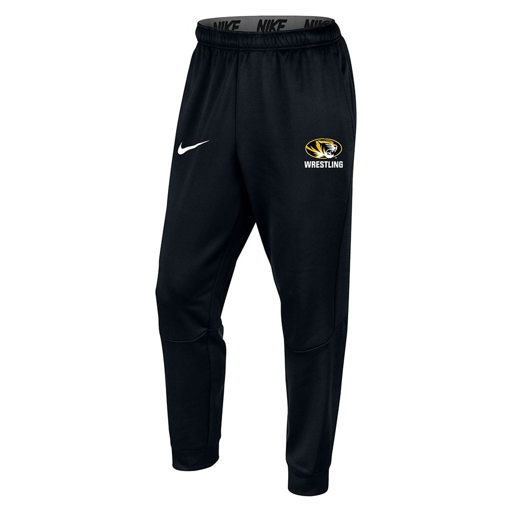 Missouri Tigers Wrestling Nike Therma Tapered Jogger
