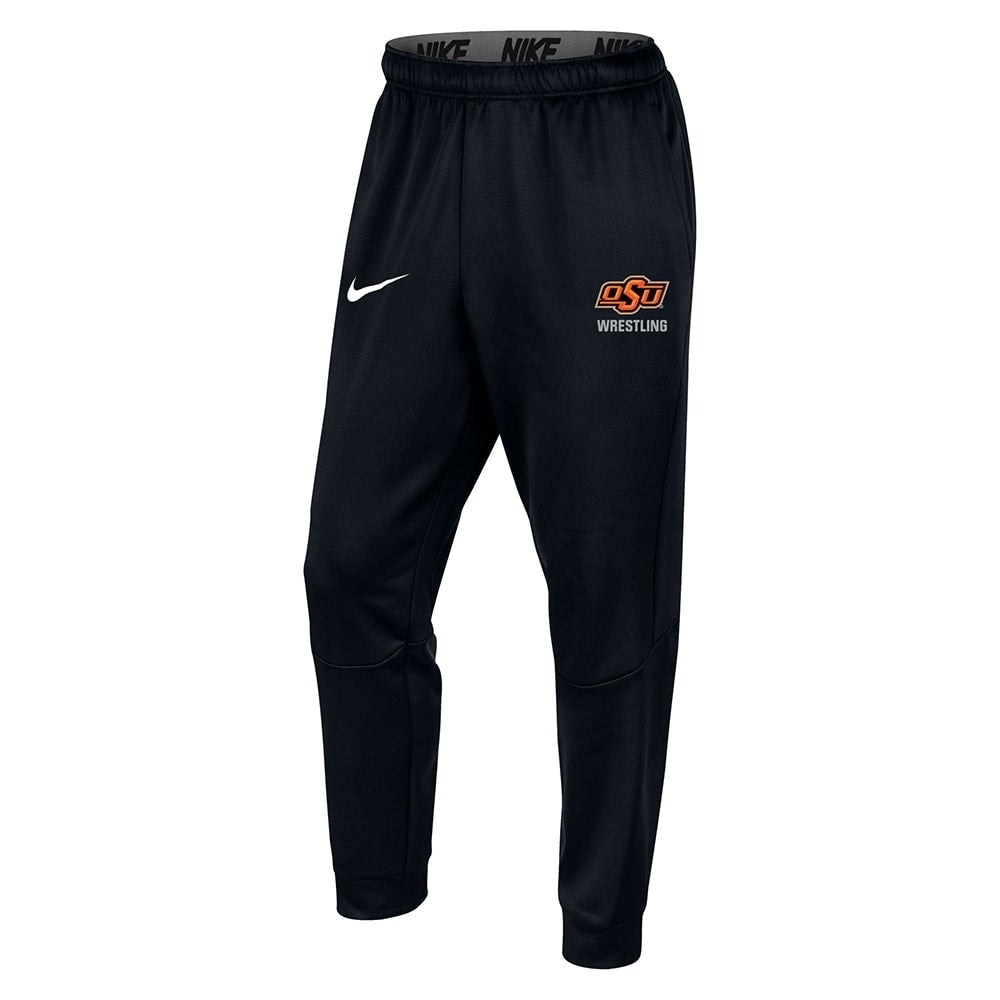 Oklahoma State Cowboys Wrestling Nike Therma Tapered Jogger