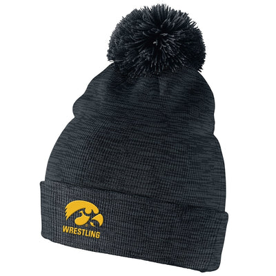 Iowa Hawkeyes Wrestling Nike Multi Stripe Beanie