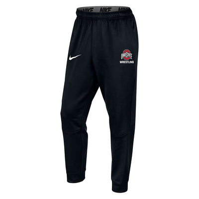 Ohio State Buckeyes Wrestling Nike Therma Tapered Jogger