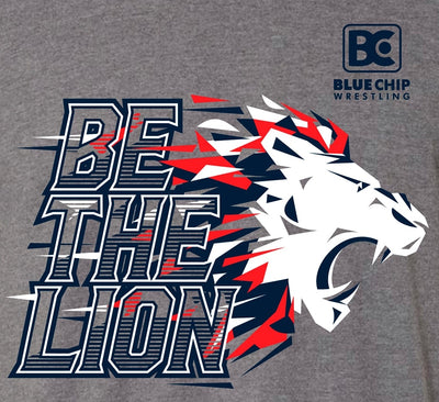 Be The Lion Wrestling T-Shirt