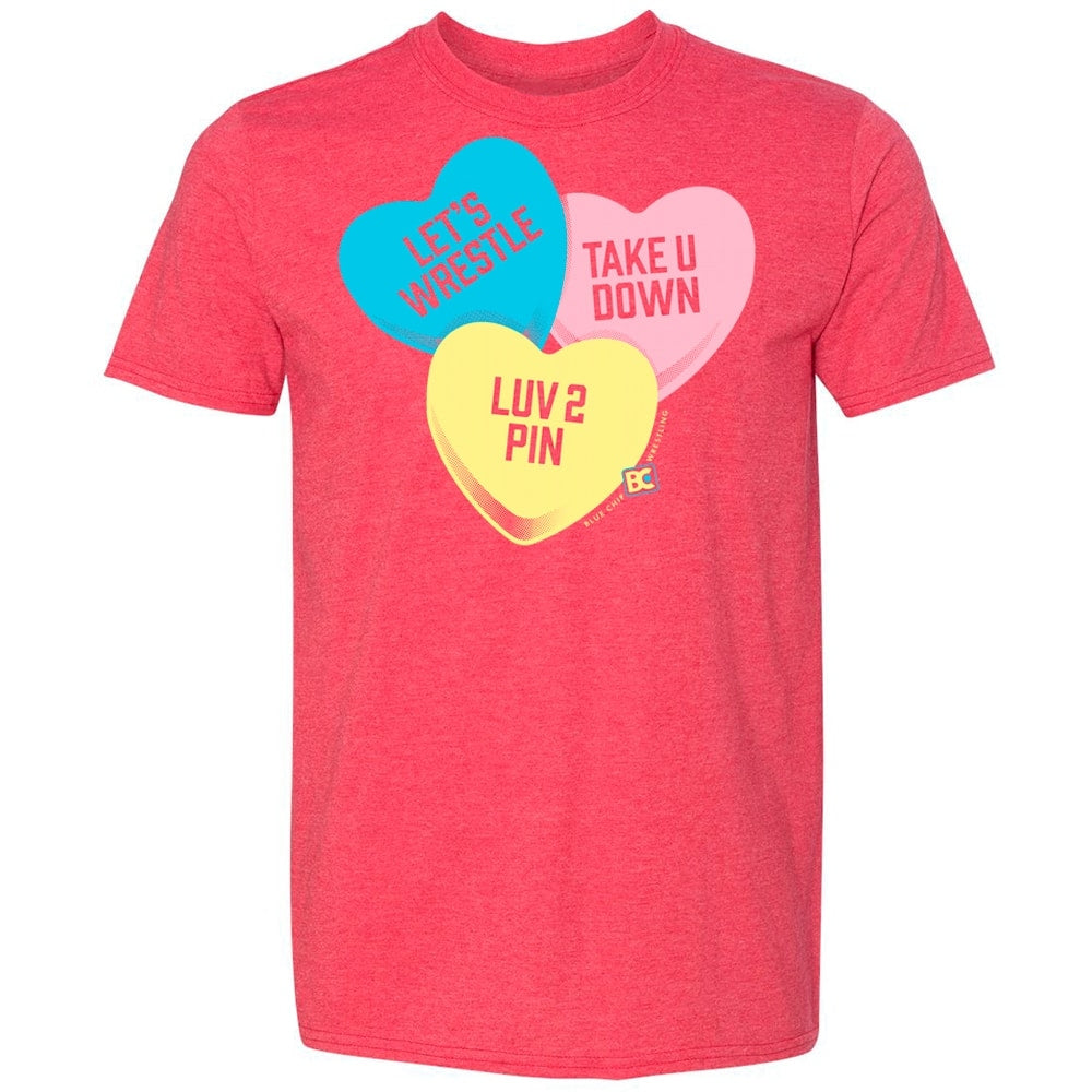 Candy Hearts Wrestling T-Shirt