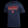 Illinois Fighting Illini Wrestling Champion Tee