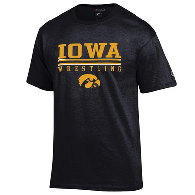 Iowa Hawkeyes Wrestling Champion Short Sleeve Tee