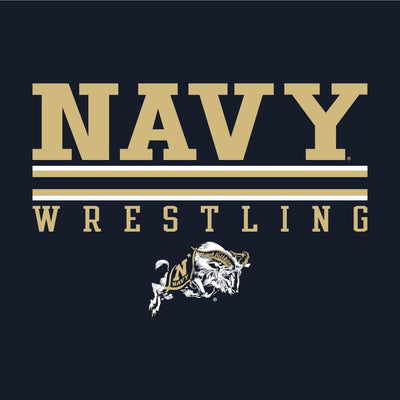 Navy Midshipmen Wrestling Champion Short Sleeve Tee