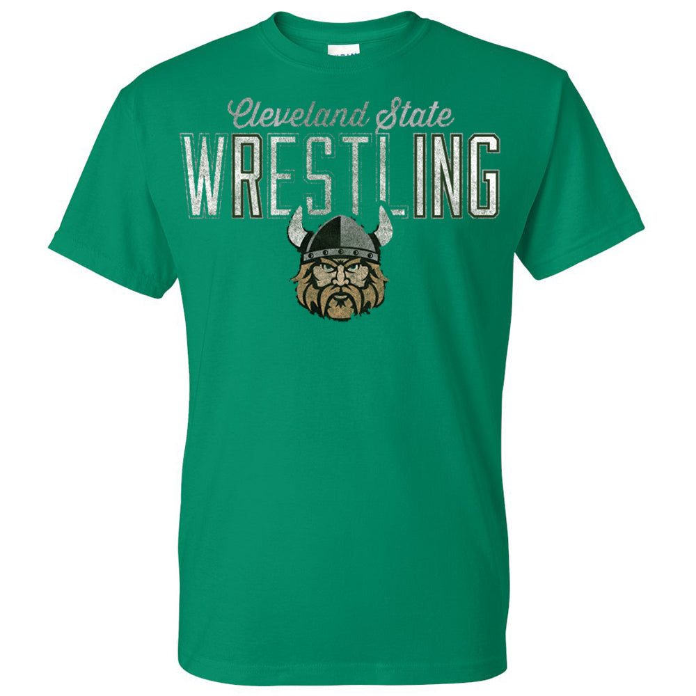 Cleveland State Vikings Marquee Wrestling T-Shirt