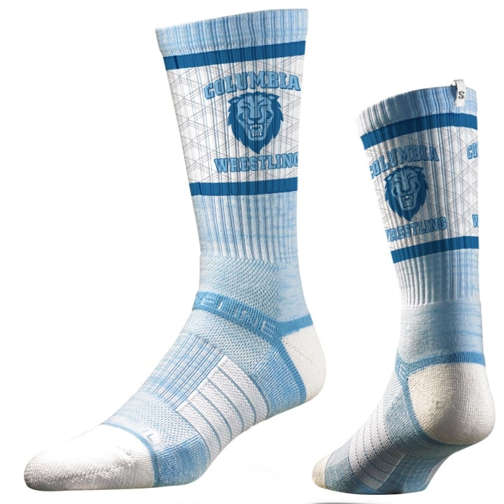 Columbia Lions Wrestling Performance Socks