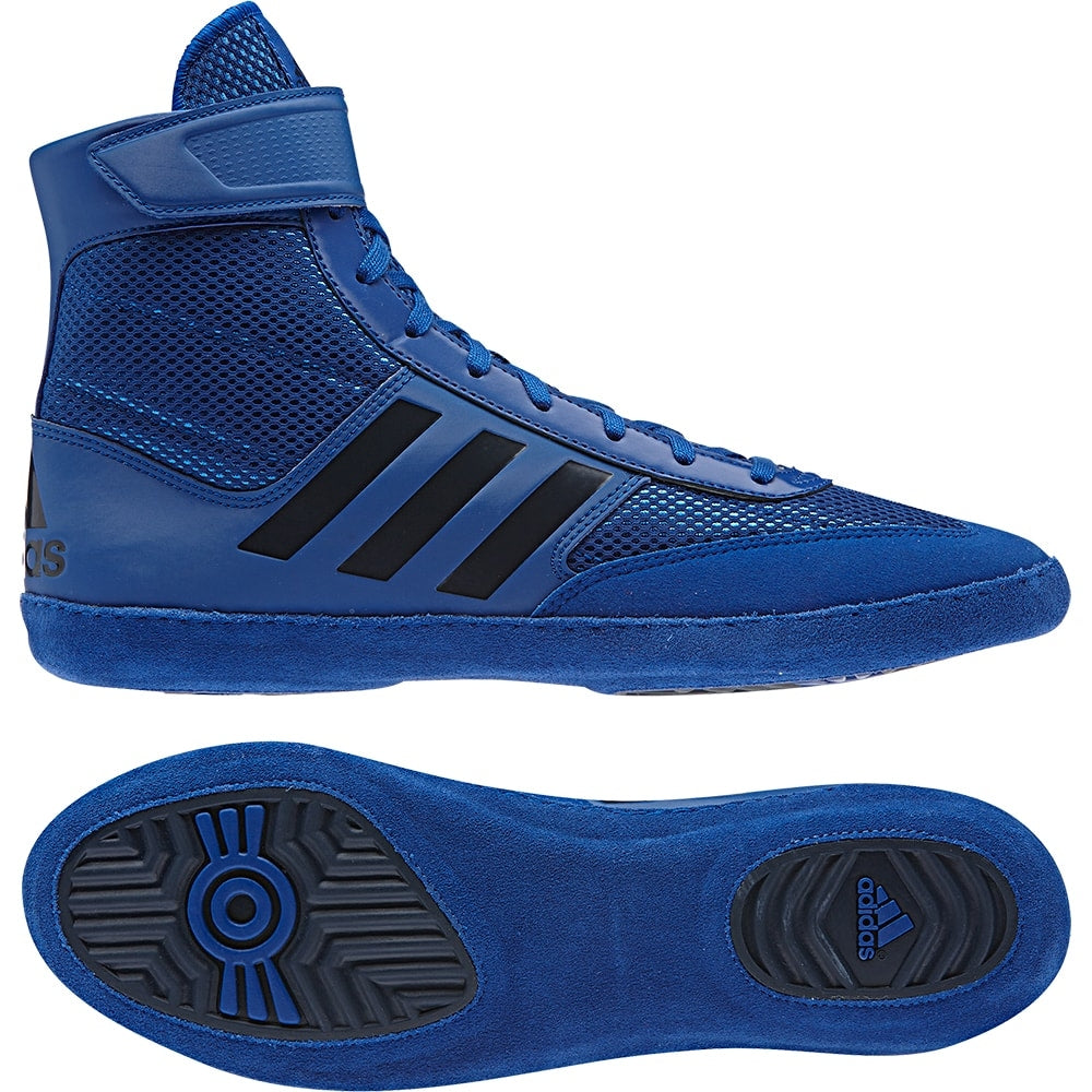 Adidas Wrestling Shoes Youth And Adult Blue Chip Wrestling