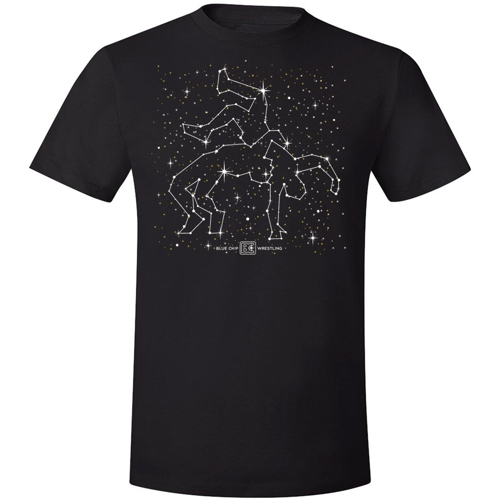 Wrestler Constellation Wrestling T-Shirt