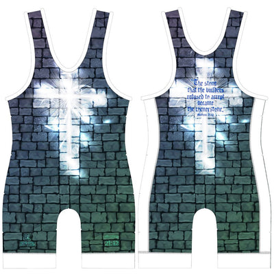 Made 4 U Cornerstone Wrestling Singlet