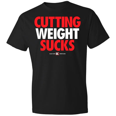 Cutting Weight Sucks Fashion Wrestling T-Shirt