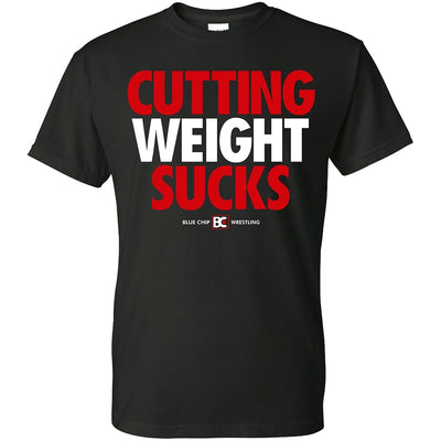 Cutting Weight Sucks Die Cut Sticker