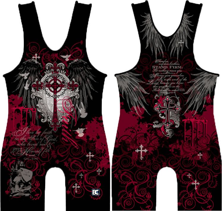 Made 4 U Faith Wrestling Singlet