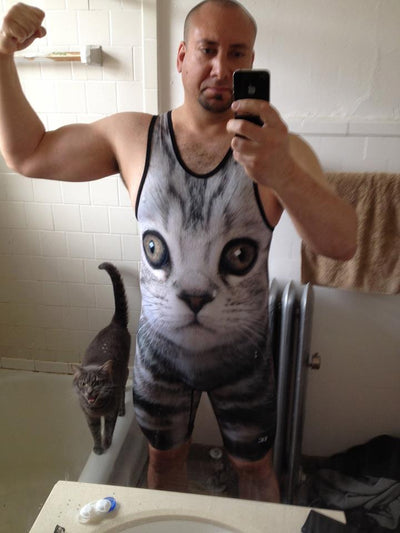 Sprinkles the Cat Wrestling Singlet