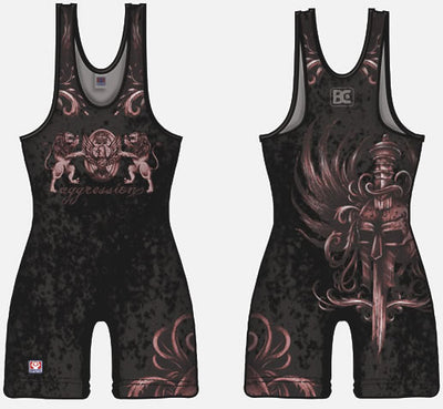 Made 4 U Gladiator Wrestling Singlet
