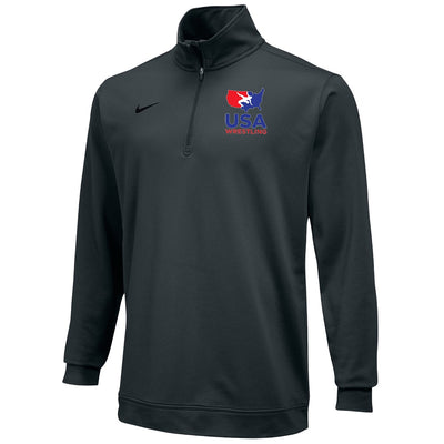 Nike USA Wrestling Dri-Fit 1/2 Zip