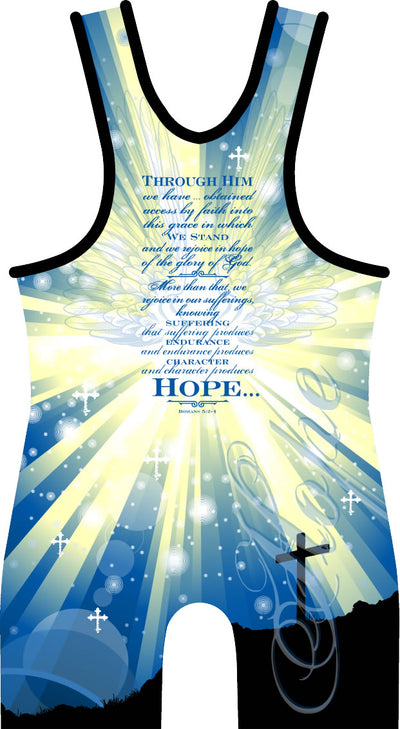 Made 4 U Hope Wrestling Singlet