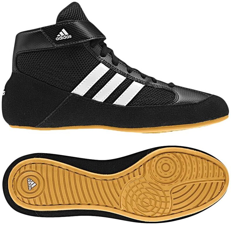 Adidas HVC 2 Youth Laced (Black / White / Gum)