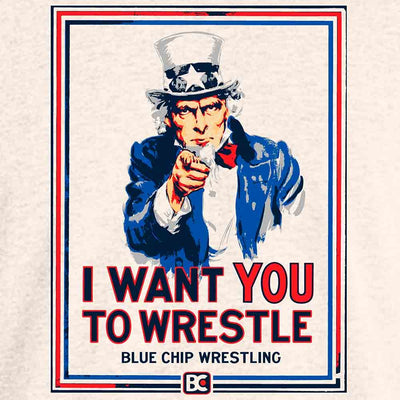I Want You To Wrestle Wrestling T-Shirt