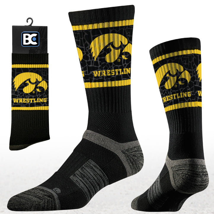 Iowa Hawkeyes Performance Socks