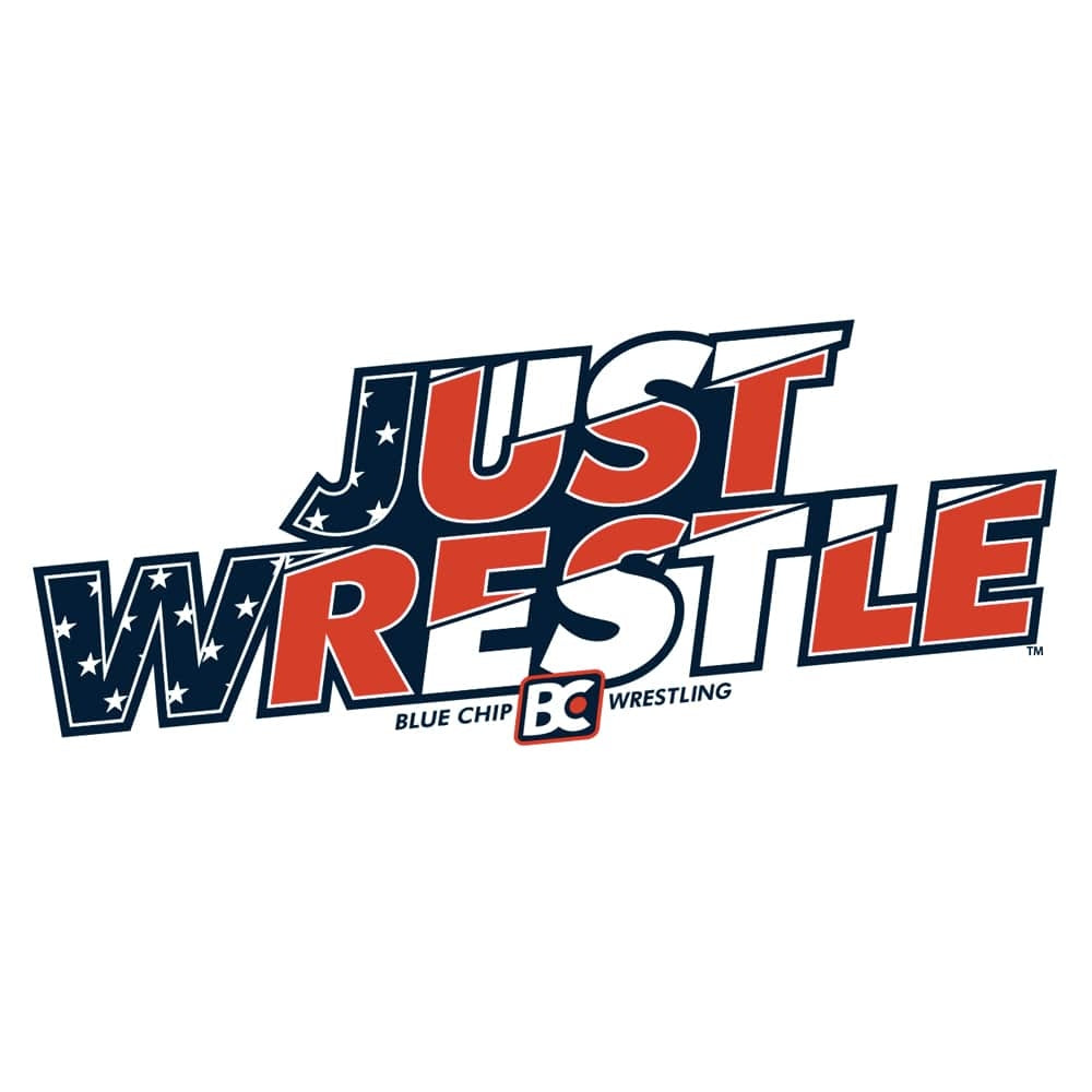 Just Wrestle Die Cut Sticker