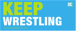 Keep Wrestling Bumper Sticker
