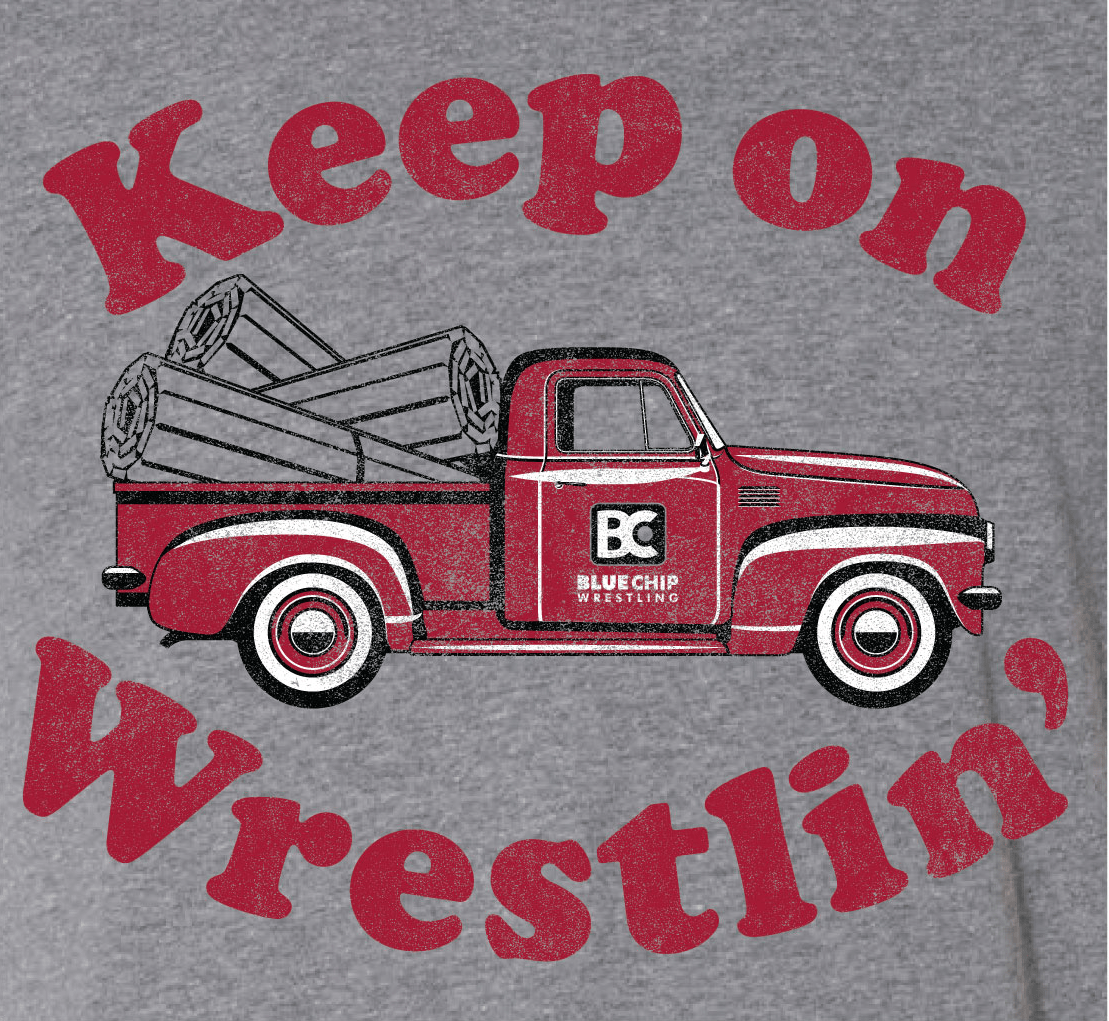 Keep On Wrestlin' Wrestling Shirt
