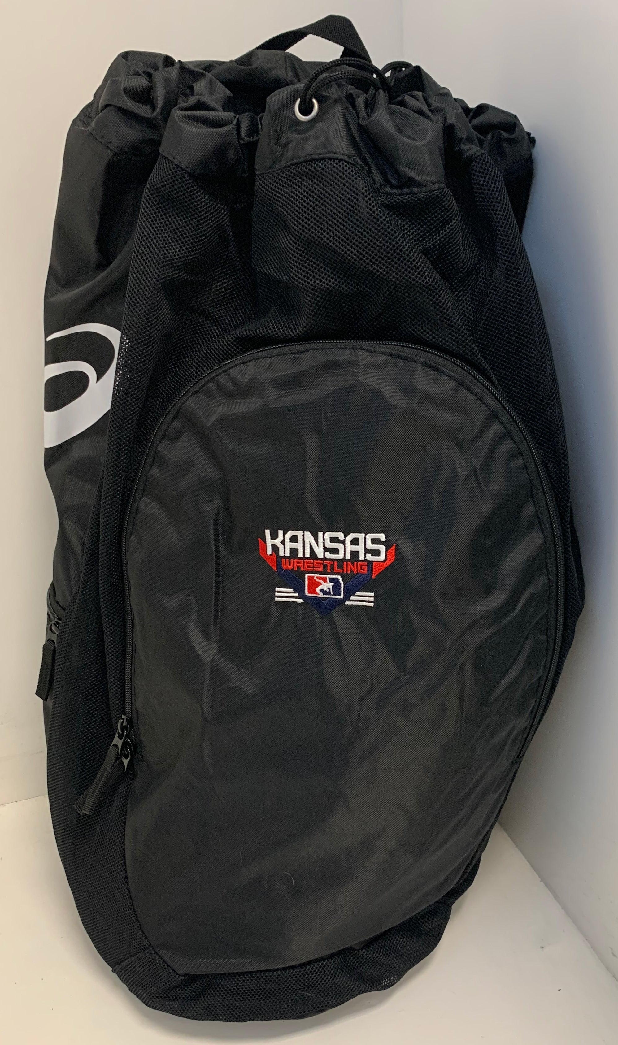 Kansas USA Wrestling Black Asics Gear Bag