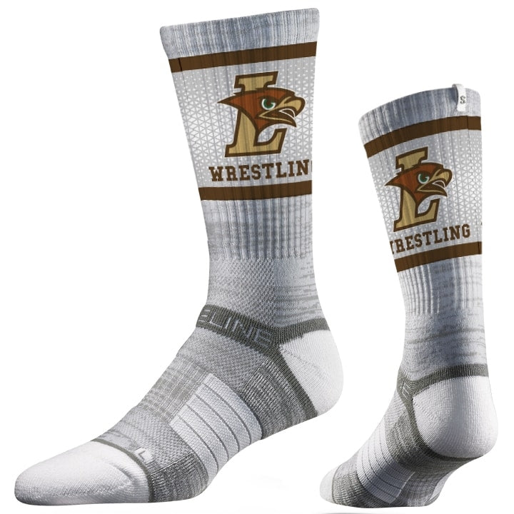Lehigh Mountain Hawks Wrestling Performance Socks