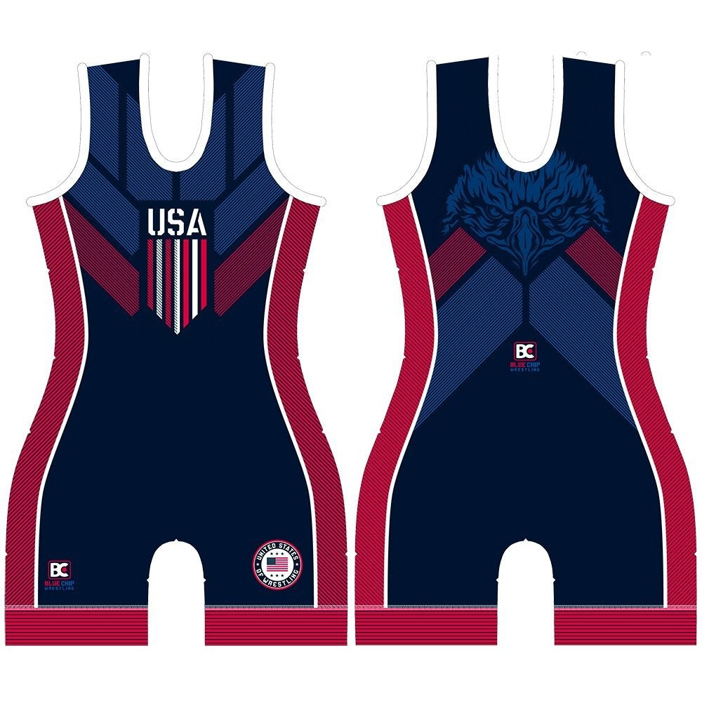 Made 4 U Made In America 2.0 Women's Wrestling Singlet