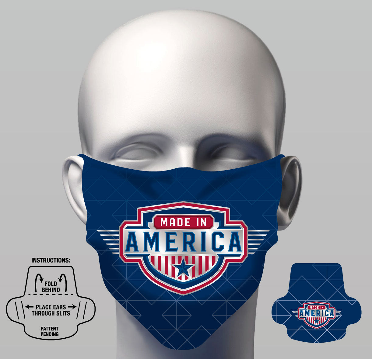 Face Cover - Made In America