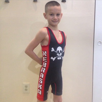 Made 4 U Nebraska Defender Singlet