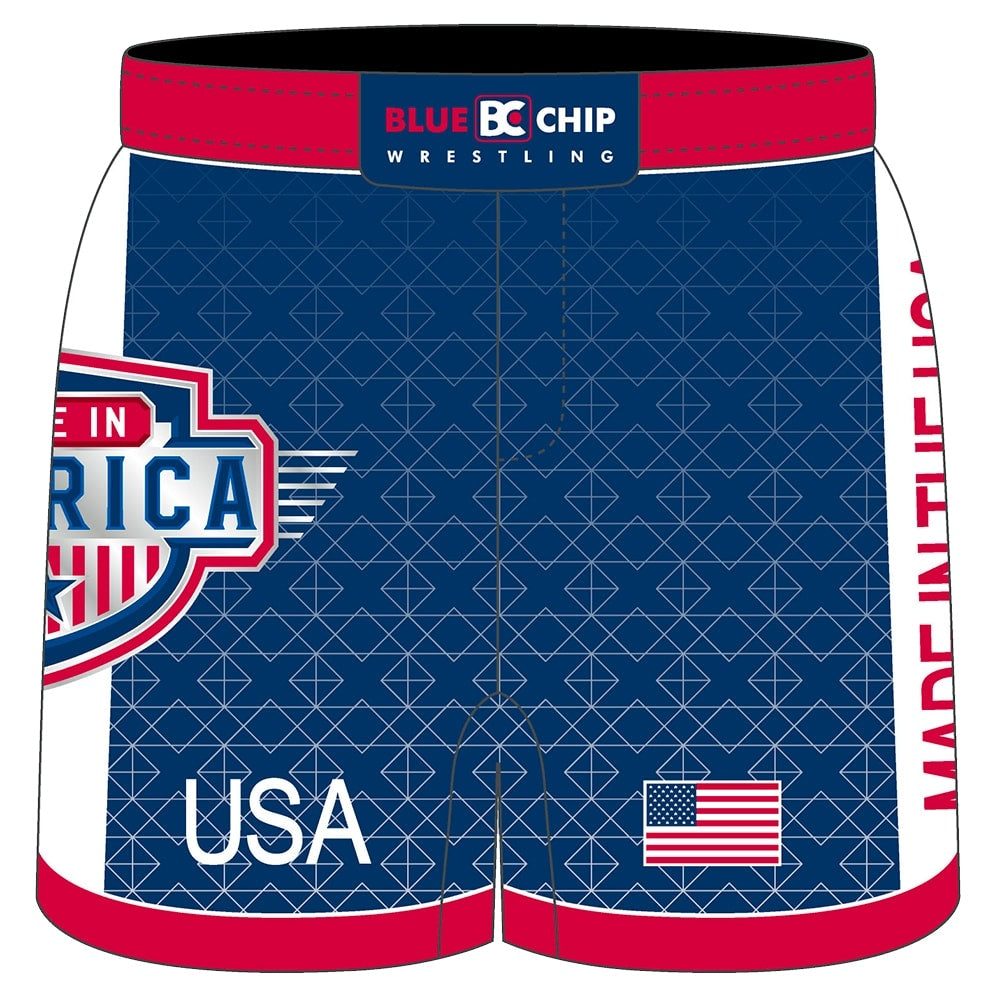 Made in America 3.0 Hybrid Wrestling Shorts
