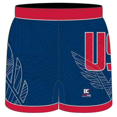MIA 4.0 Sublimated Lycra Wrestling Shorts