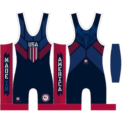 Made In America 2.0 Wrestling Singlet