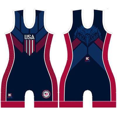 Made In America 2.0 Women's Wrestling Singlet
