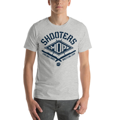 Shooters Mop Customizable Premium Wrestling T-Shirt