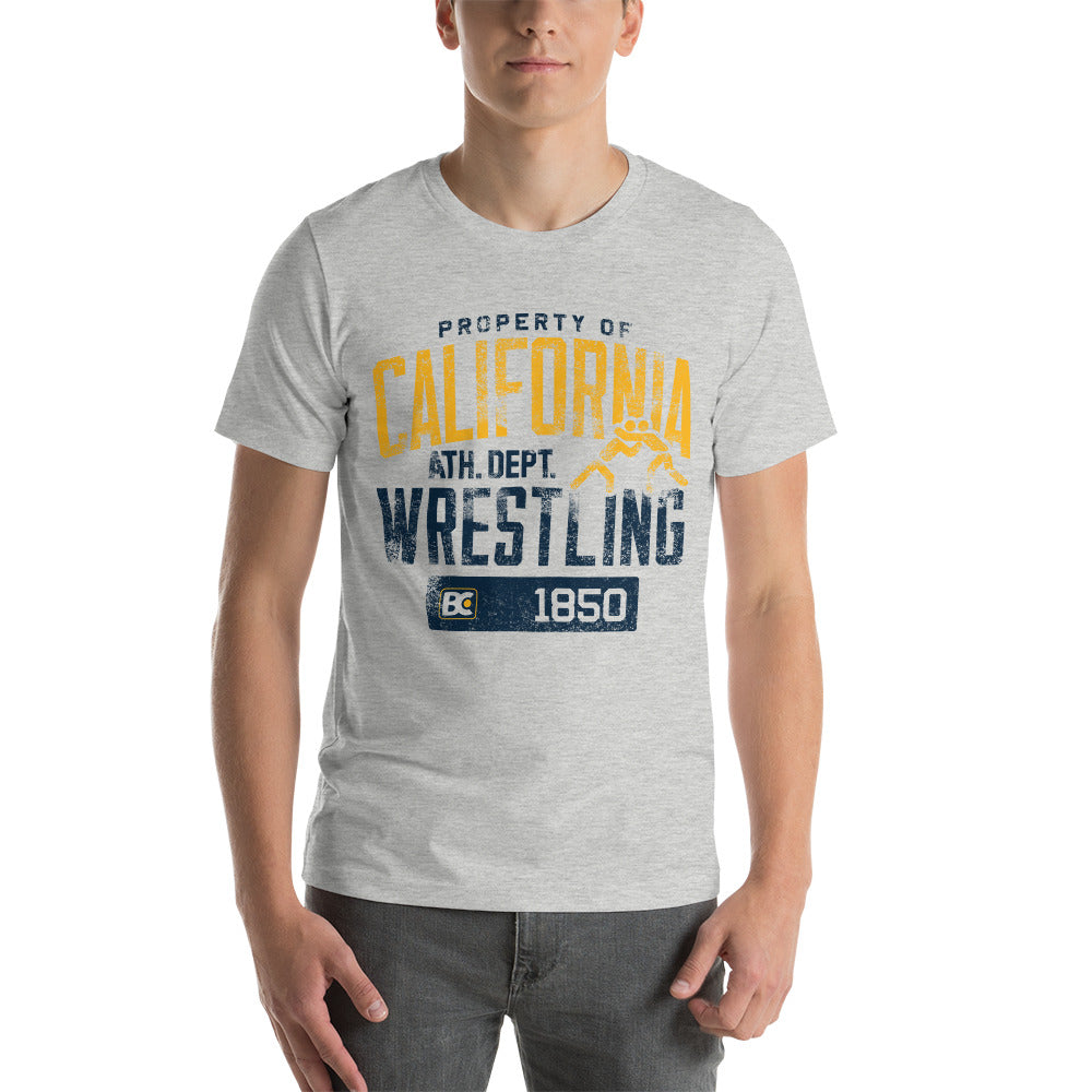 Property of California Premium Wrestling T-Shirt