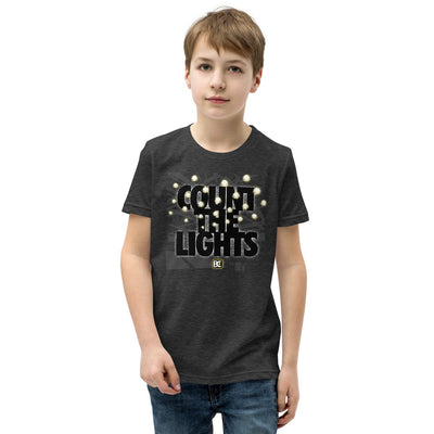 Count the Lights Youth Premium Wrestling T-Shirt