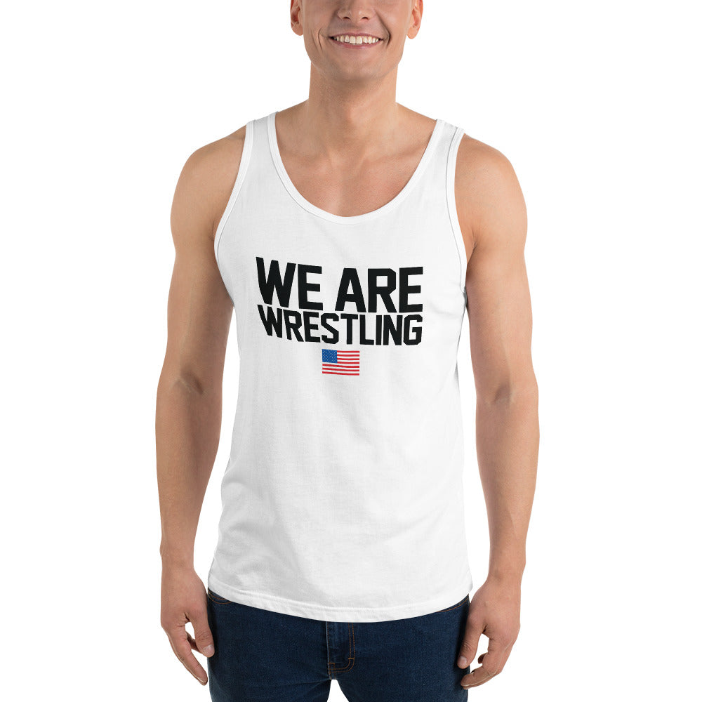 Customizable We Are Wrestling Unisex Tank Top