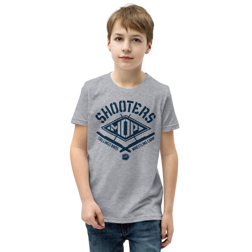 Shooters Mop Youth Customizable Premium Wrestling T-Shirt