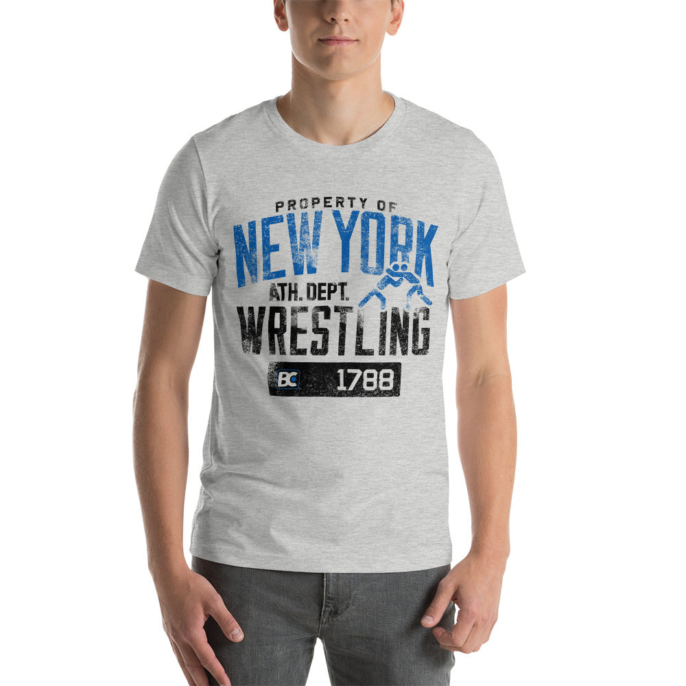 Property of New York Premium Wrestling T-Shirt